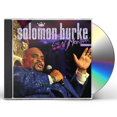 Solomon Burke LIVE AT MONTREUX 2006 CD