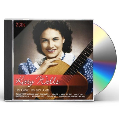 Kitty Wells HER GREAT HITS & DUETS CD