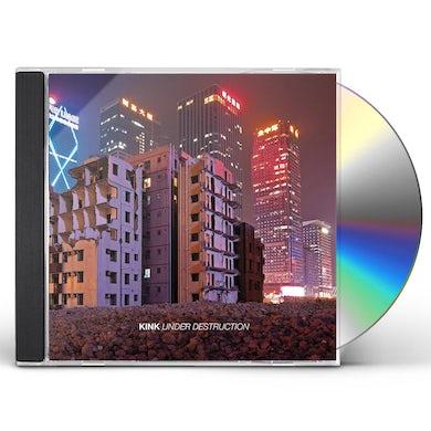 Kink UNDER DESTRUCTION CD