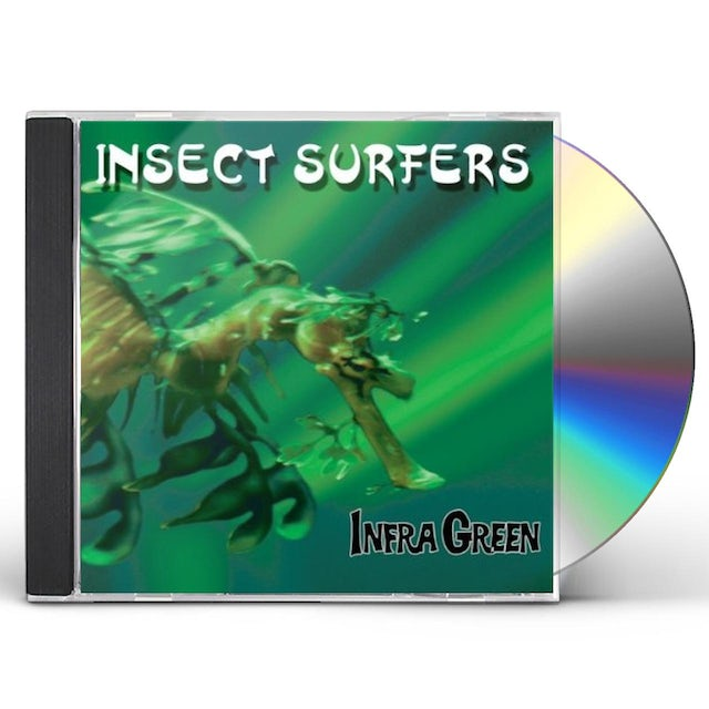 Insect Surfers INFRA GREEN CD