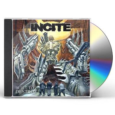 BUILT TO DESTROY CD