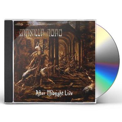 Manilla Road AFTER MIDNIGHT LIVE CD