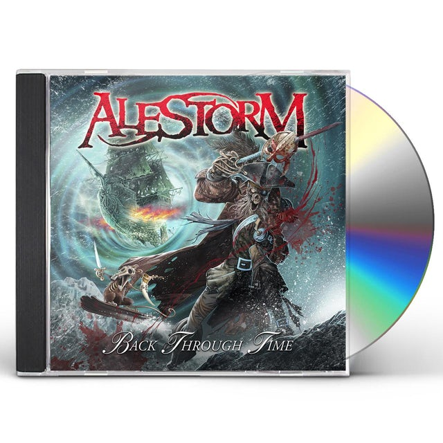Alestorm BACK THROUGH TIME CD