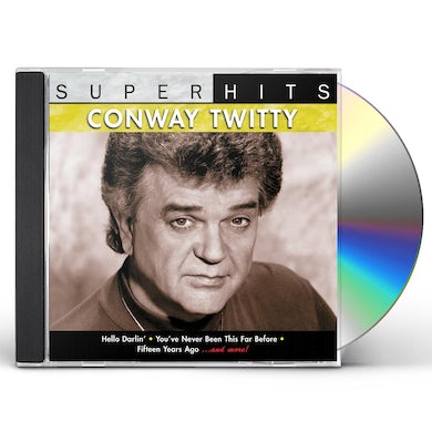 Conway Twitty SUPER HITS CD