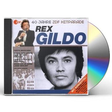 Rex Gildo DAS BESTE AUS 40 JAHREN HITPARADE CD