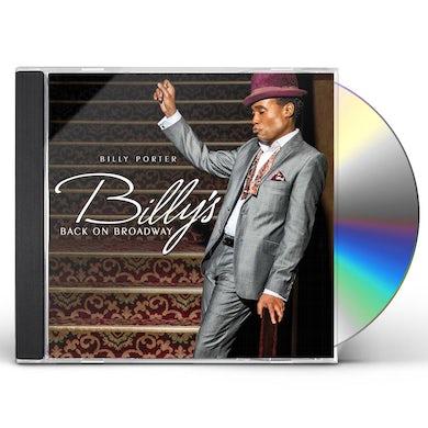 Billy Porter BILLY'S BACK ON BROADWAY CD