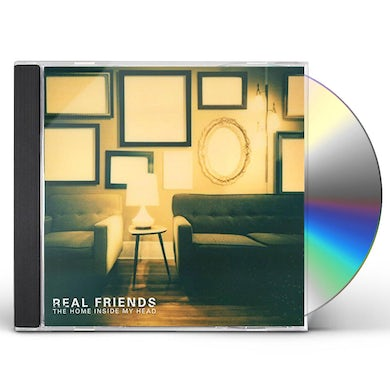 Real Friends HOME INSIDE MY HEAD CD