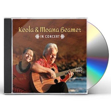 Keola Beamer KEOLA & MOANA BEAMER IN CONCERT CD