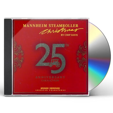 MANNHEIM STEAMROLLER CHRISTMAS 25TH ANNIVERSARY CO CD