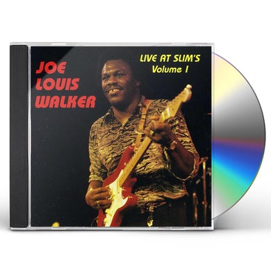 Joe Louis Walker LIVE AT SLIMS 1 CD
