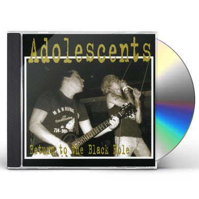 Adolescents RETURN TO THE BLACK HOLE CD