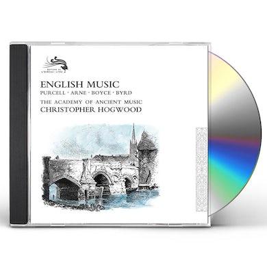 Christopher Hogwood ENGLISH MUSIC CD