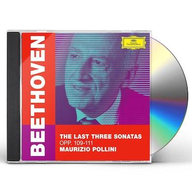Maurizio Pollini Beethoven: The Last Three Sonatas, Opp. 109-111 CD