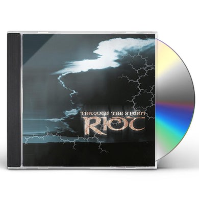 Riot THROUGH THE STORM CD