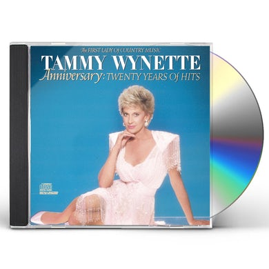 Tammy Wynette Anniversary: 20 Years of Hits [20 Tracks] CD