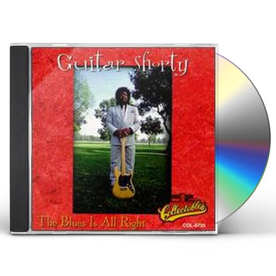 Guitar Shorty BLUES IS ALL RIGHT CD