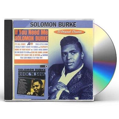 Solomon Burke IF YOU NEED ME / ROCK N SOUL CD