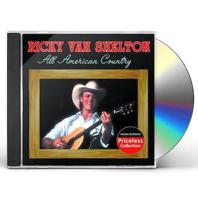 Ricky Van Shelton PURE COUNTRY CD