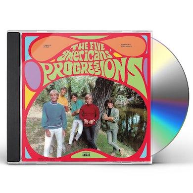 Five Americans PROGRESSIONS CD