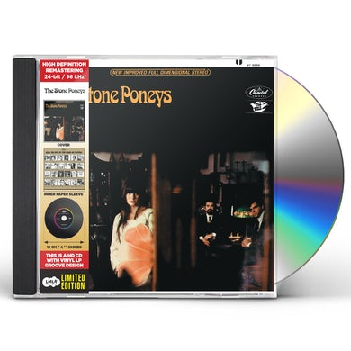 Linda Ronstadt THE STONE PONEYS - CARDBOARD JACKET 2018 CD
