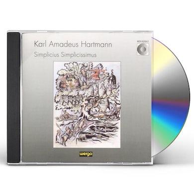 Hartmann SIMPLICIUS SIMPLICISSIMUS CD