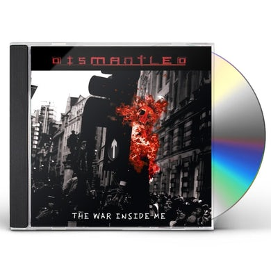 Dismantled WAR INSIDE ME CD