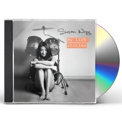 Susan Wong MY LIVE STORIES CD