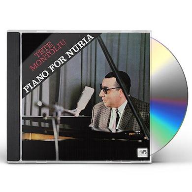 Tete Montoliu PIANO FOR NURIA CD