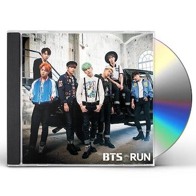 BTS RUN: JAPANESE VER CD