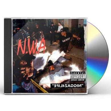 N.W.A. NIGGAZ4LIFE (+100 MILES & RUNNIN) CD