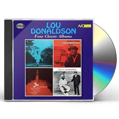 Lou Donaldson BLUES WALK / GRAVY TRAIN / LOU TAKES OFF CD