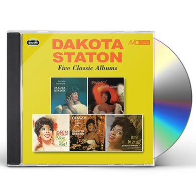 Dakota Staton LATE LATE SHOW / DYNAMIC / MORE THAN THE MOST CD