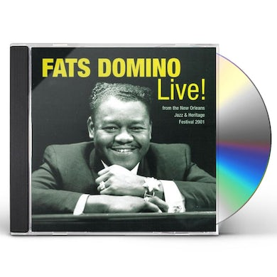 Fats Domino LEGENDS OF NEW ORLEANS: LIVE CD