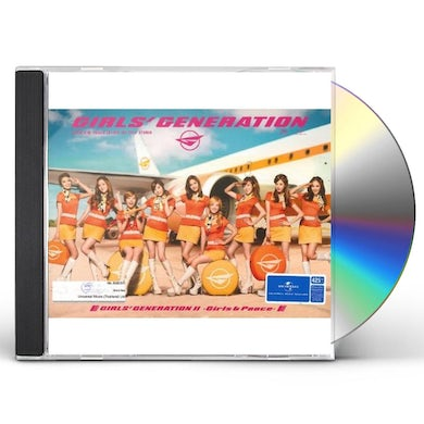 Girls' Generation GIRLS & PEACE (LIMITED EDITION) CD