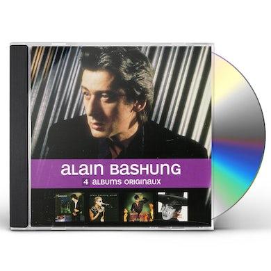 Alain Bashung 4 ORIGINAL ALBUMS CD