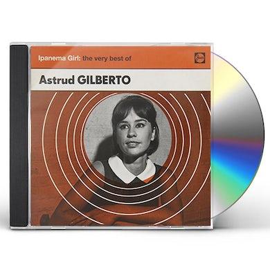 Astrud Gilberto IPANEMA GIRL: THE VERY BEST OF CD