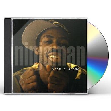 Ninjaman WHAT A SHAME CD