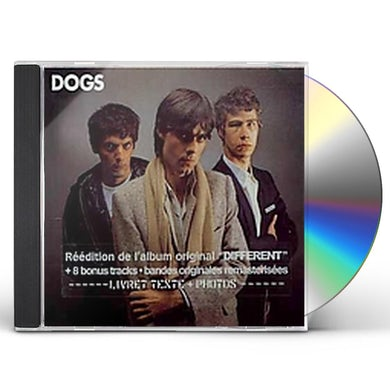 Dogs DIFFERENT ME CD