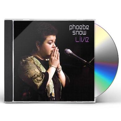 Phoebe Snow LIVE IN WOODSTOCK CD