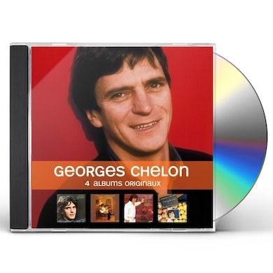 Georges Chelon 4 ALBUMS ORIGINAUX CD