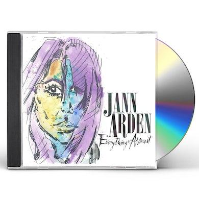 Jann Arden EVERYTHING ALMOST CD