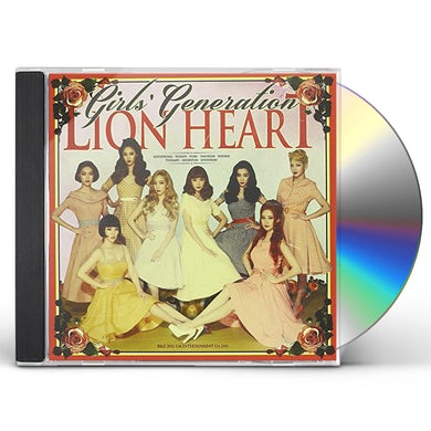 Girls' Generation LION HEART: LIMITED EDITION CD