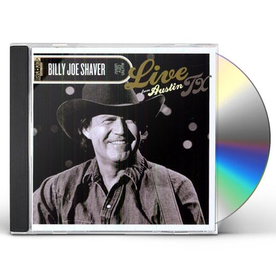 Billy Joe Shaver LIVE FROM AUSTIN TX CD