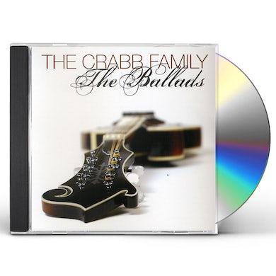 Crabb Family BALLADS CD