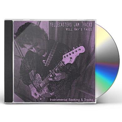 Will Ray HELLECASTERS JAM TRACKS CD