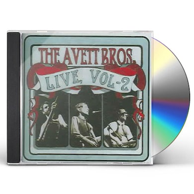 The Avett Brothers LIVE 2 CD