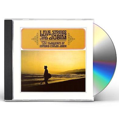 Antonio Carlos Jobim LOVE STRINGS AND JOBIM CD
