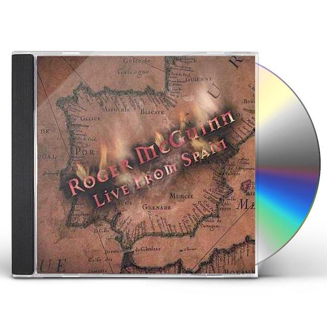 Roger Mcguinn LIVE FROM SPAIN CD
