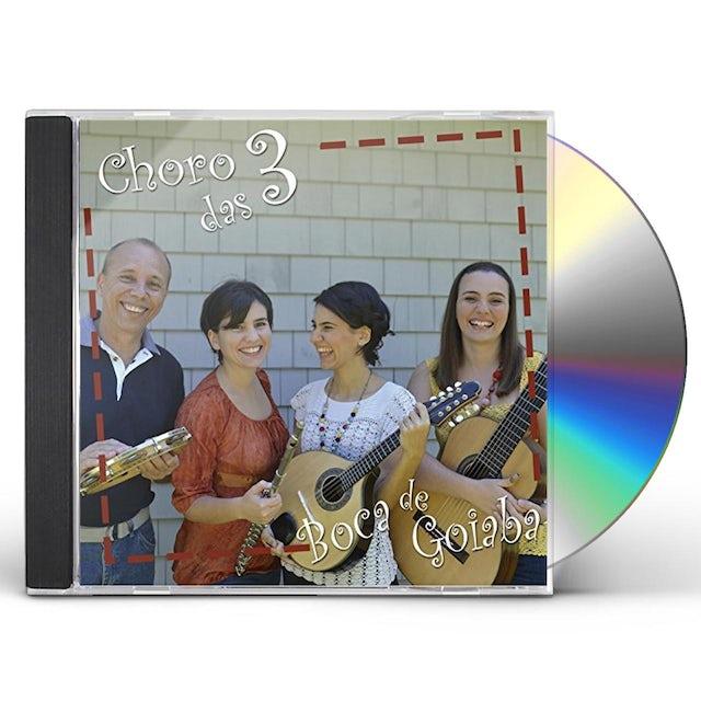 Choro das 3 BOCA DE GOIABA CD
