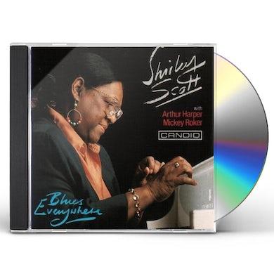 Shirley Scott BLUES EVERYWHERE CD